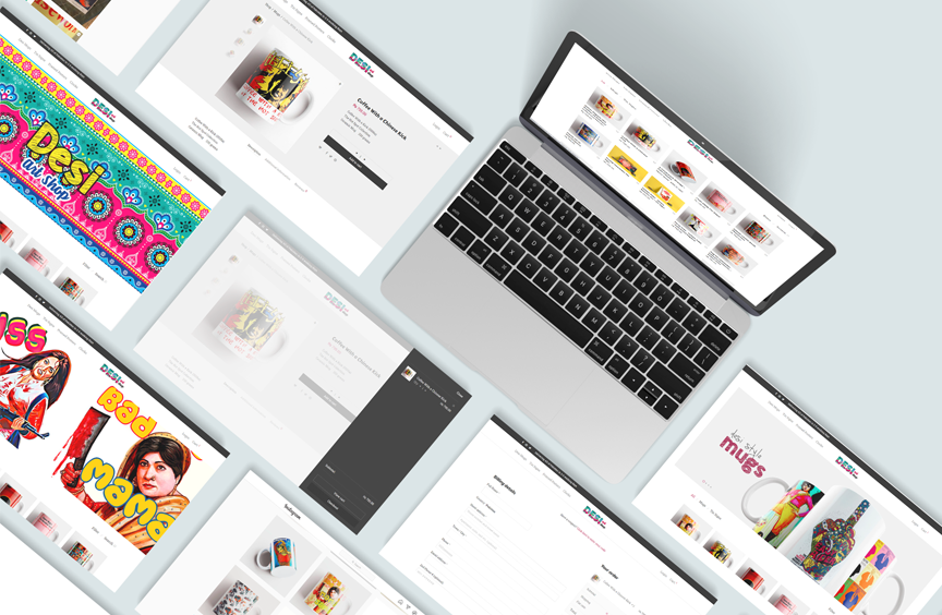 Desi Art Shop – WordPress